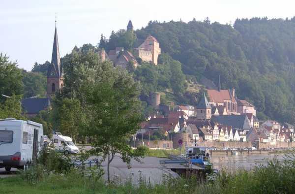 region hessen hirschhorn neckar